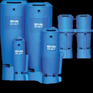 Separatori olio/acqua Separatori a bassa, media e alta gamma – da 60 a 7000 cfm di capacità
