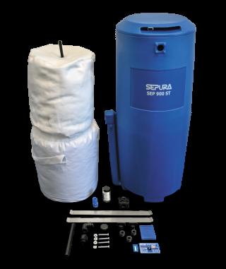 Separatoi olio/acqua SEP 120/360/900/1250 ST Depuratore per il condensato