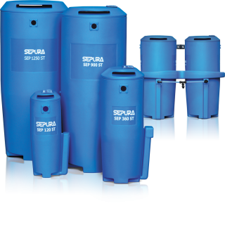 SEPURA - Filtration &amp Condensation Management Condensate Cleaner