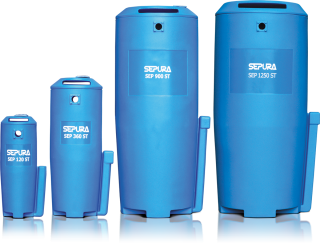 Oil Water separators Low, Mid & High Range Separators - from 60 to 7000cfm capacity