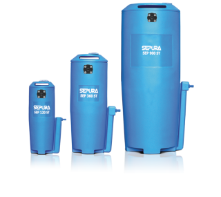 SEP 120/360/900/1250 ST Oil Water Separator Condensate Cleaner