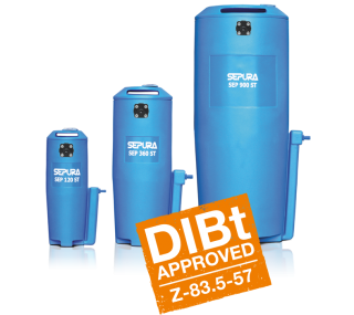 SEP 120/360/900/1250 ST Oil Water Separator Condensate Cleaner