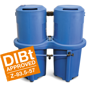 SEP 1800/2500 ST Separadores de agua y aceite Depurador de condensados