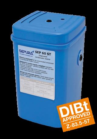 SEP 60 ST Separadores de agua y aceite Depurador de condensados