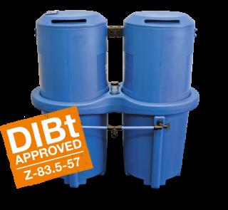 Separatori olio/acqua SEP 1800/2500 Depuratore per il condensato