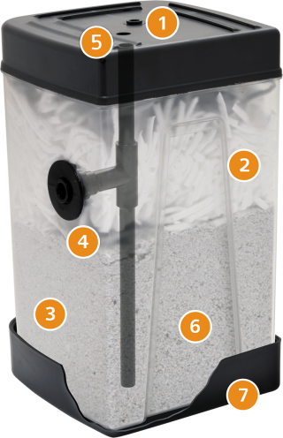 SEP 60 ST Separatore olio/acqua Depuratore di condensato