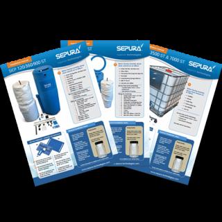 SEPURA - Filtração de Condensado Condensate Cleaner