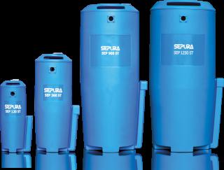 Separadores Óleo / Água separadores da gama baixa, média e alta – com capacidade de 60 a 7000 cfm